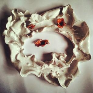 Corolla, ceramica, 2011, 50 cm. ca. diametro