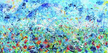 Vento di primavera, tecniche miste, 2011