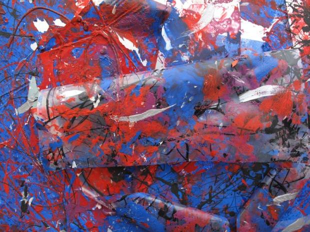 Lettera d'amore, Serie Soffiando sulle nuvole, 90x 90 cm., 2010, dett.