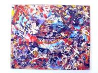 Dopo il temporale, plastiche, tecnica mista, 1 mt. x 90 cm., 2011