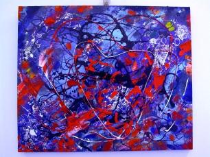 Foreste del cuore, 50 x 60 cm., tecniche miste, 2010
