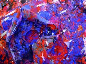 Lettera d'amore di una nuvola, 70x80 cm., scultura in plastica, 2011, tridimensionale, dett.