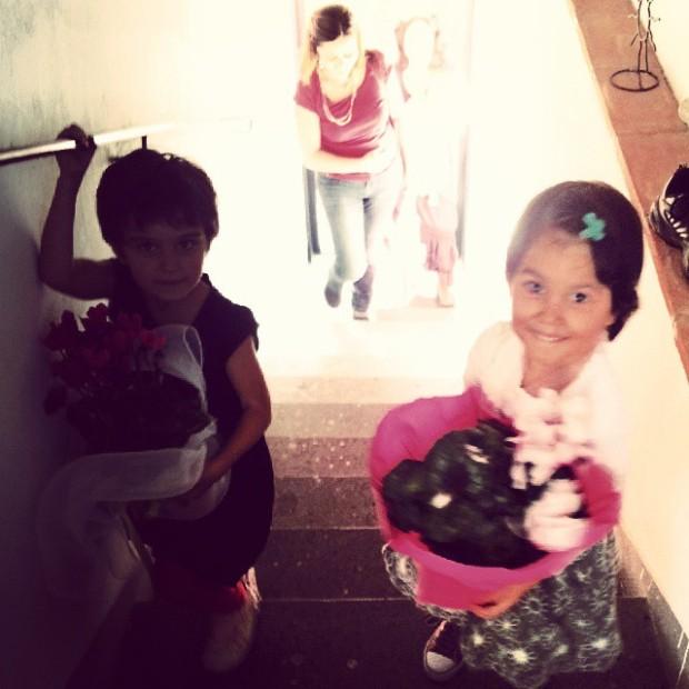 Giada e Irene arrivano, ottobre 2013, LC