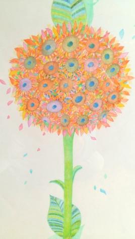 Sunflower flowers, 2015