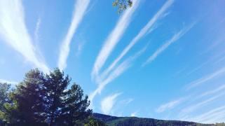 Il cielo alla Contea degli Angeli