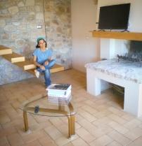 Laura a casa di Debora